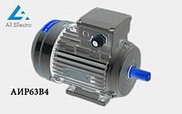 Электродвигатель АИР63В4 0,37 кВт 1500 об/мин, 380/660В