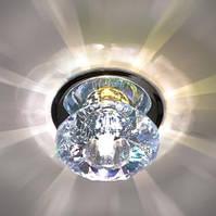 Декоративный светильник с кристаллом Feron JD80/S 20W G4 мультиколор