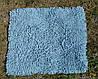 Коврик для ванной хлопковый, 50*60см. цвет голубой. Коврик для ванной купить, фото 10
