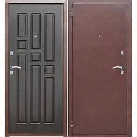 Входная дверь GARDA Гарда 60 Медный антик/Венге (860*2050) L