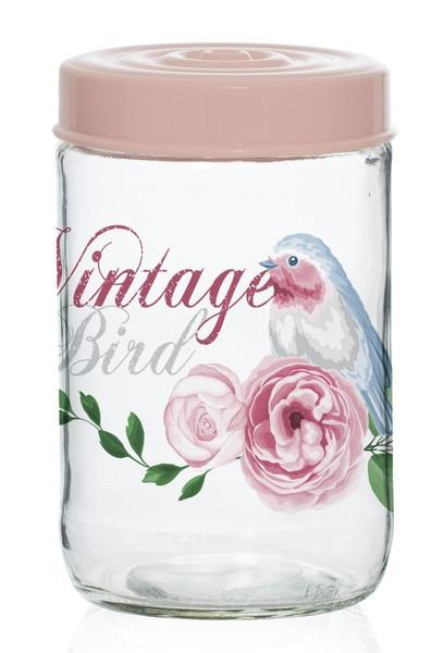 Банка HEREVIN Vintage Birds 0.66 л