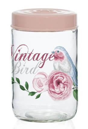 Банка HEREVIN Vintage Birds 0.66 л, фото 2