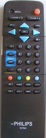 Пульт для телевизора Philips RC7940