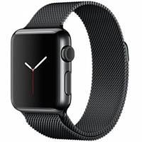 Ремешок iGuardian Milanese Loop для Apple Watch 40/38mm Black (IGUMLBAW4038), фото 1