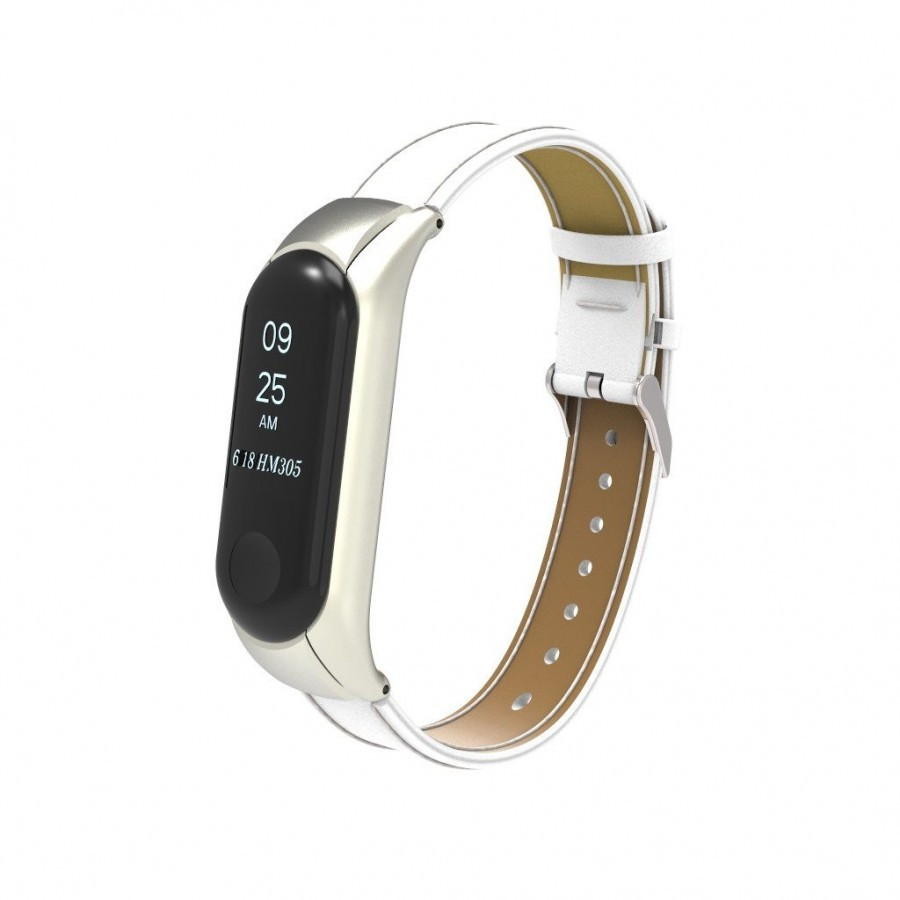 Ремешок для фитнес-браслета Xiaomi Mi Band 3 Белый (87654)