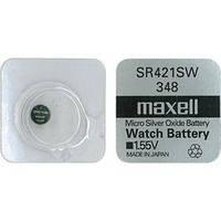 Батарейки Maxell SR421SW (348) 1шт