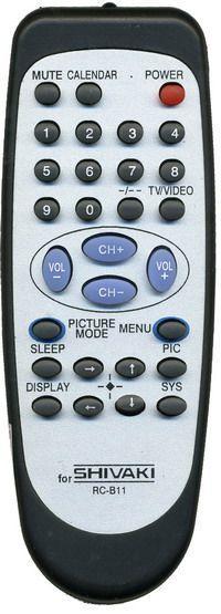 Пульт для телевизора Shivaki RC-811