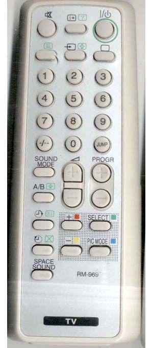 Пульт для телевизора Sony RM-969