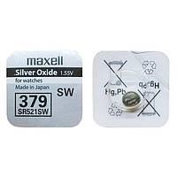 Батарейки Maxell SR521W (379) 1шт