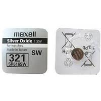 Батарейки Maxell SR616SW (321) 1шт