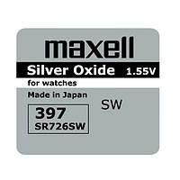 Батарейки Maxell SR726SW (396) (397) 1 шт