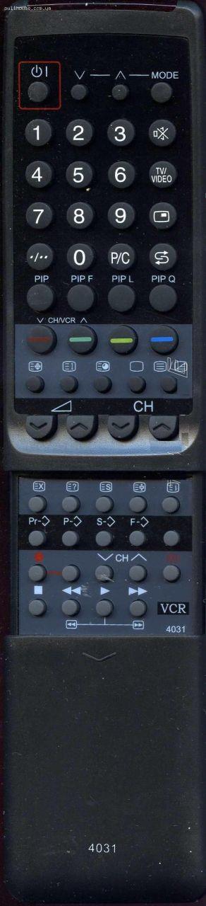 Пульт для телевизора Sharp 4031SA