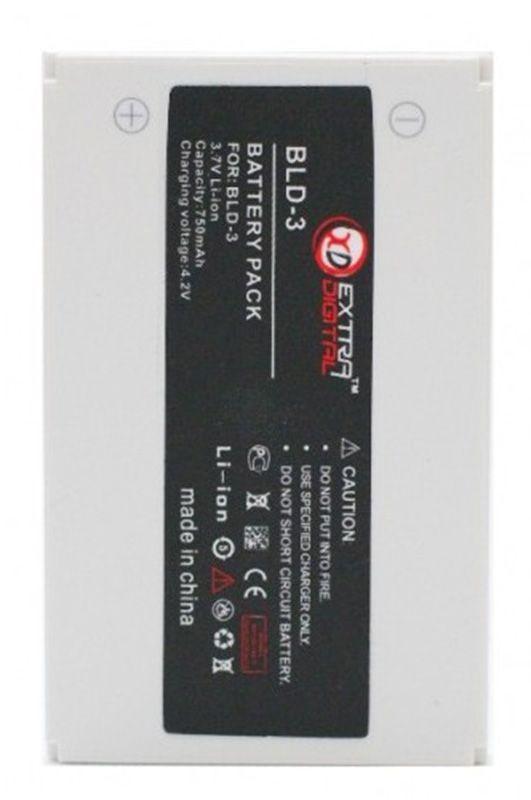 Усиленный аккумулятор Nokia BLD-3 / BMN6287 (750 mAh) ExtraDigital