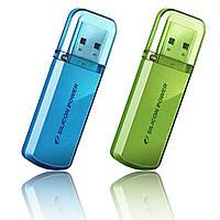 Флешка USB Silicon Power Helios 101 16Gb (SP016GBUF2101V1N) green