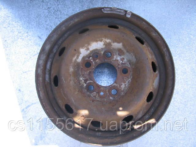 Диск колесный стальной б/у R15 на Fiat Ducato 1994-2016 1316917080