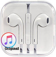 Гарнитура для телефона Apple EarPods with Remote and Mic (MD827)