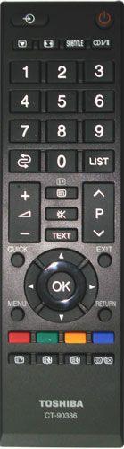 Пульт для телевизора Toshiba CT-90336 [PLASMA, LCD TV]