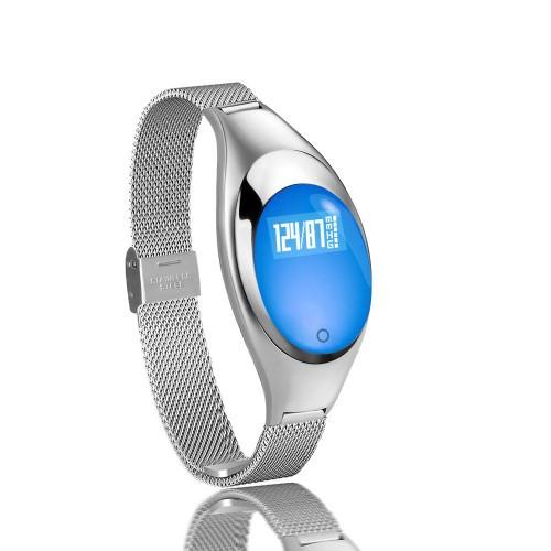 Умный фитнес-браслет Supero Smart Band Z18 Тонометр Серебристый (xbEw61827)