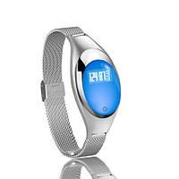 Умный фитнес-браслет Supero Smart Band Z18 Тонометр Серебристый (xbEw61827), фото 1