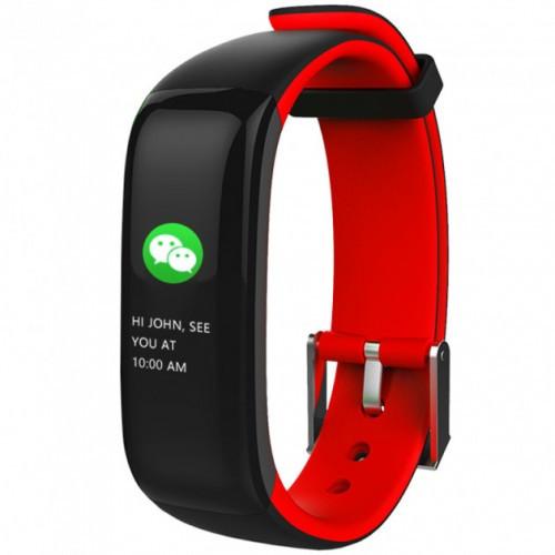 Умный фитнес-браслет Supero Smart Band P1 Красный (Amxa57838)