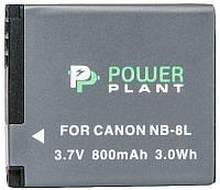 Аккумулятор для фотоаппарата Canon NB-8L (800 mAh) DV00DV1256 PowerPlant