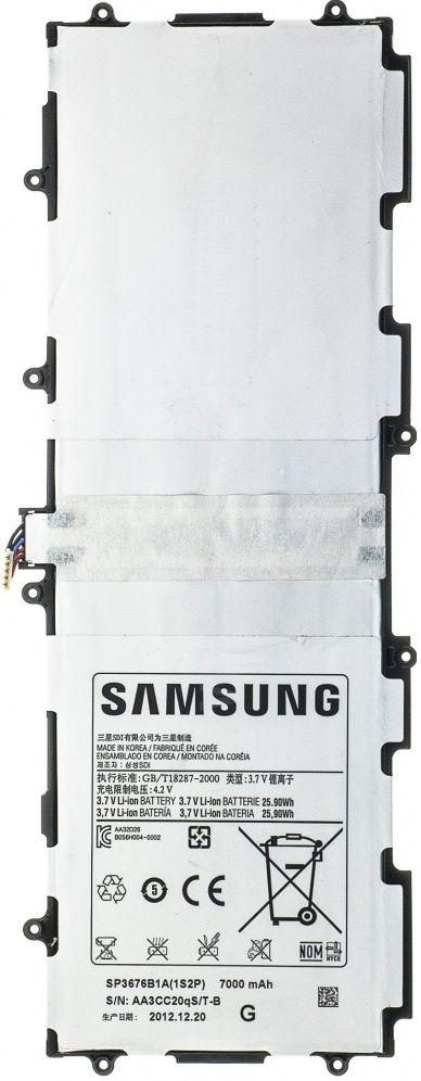 Аккумулятор для планшета Samsung P7500 Galaxy Tab 2 10.1 / SP3676B1A (7000 mAh) Original