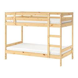ИКЕА (IKEA) МИДАЛ, 001.024.52, Каркас 2-ярусной кровати, сосна, 90x200 см - ТОП ПРОДАЖ
