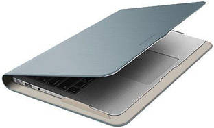"Чехол Macally Protective folio case for MacBook Air 11"" Silver (AIRFOLIO11-S)"