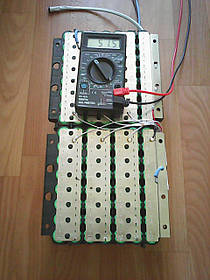 Літієвий акумулятор для електровелосипеда 48В 20аг (літій-іонний)