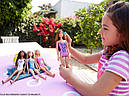 Кукла Барби Пляж в купальнике гепард Barbie, фото 8