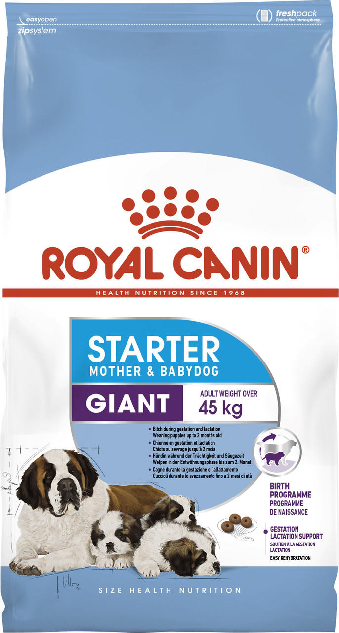 Сухой корм для щенков крупных пород Royal Canin Giant Starter 4 кг