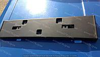 Накладка бампера Ланос, Сенс передняя (под номер) Польша, фото 1