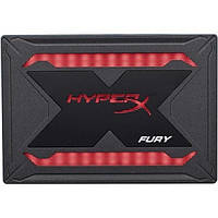 Жорсткий диск внутрішній SSD 240Gb Kingston HyperX Fury RGB Bundle (SHFR200B/240G)