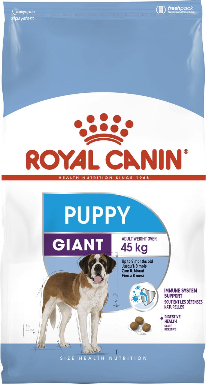 Сухой корм для щенков крупных пород Royal Canin Giant Puppy 3,5 кг