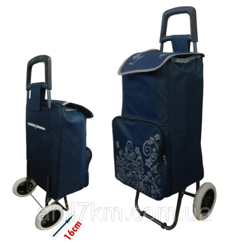 """Тележка с сумкой  """"Синий shopping"""""""