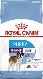 Сухий корм для цуценят великих порід Royal Canin Giant Puppy 15 кг