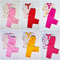 Пижама трикотажная для девочки, фото 1