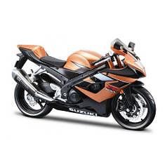 31101-1 Suzuki GSX-R1000 2006г. Модель мотоцикла (1:12) Suzuki GSX-R1000 gold/black MAISTO