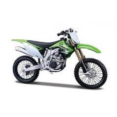 31101-16 Kawasaki KX 450F Модель мотоцикла (1:12) Kawasaki KX 450F green MAISTO