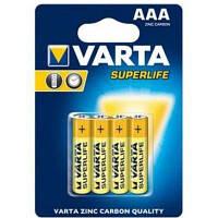 Батарейки Varta AAA (R03) SuperLife 4шт