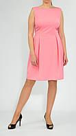 Платье женское с открытой спиной без рукавов миди от бренда Адель Лероу.