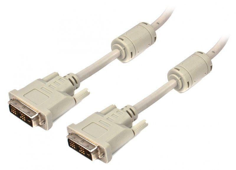 Кабель Cablexpert DVI > DVI 18/18 (single link), 4.5 м (CC-DVI-15)