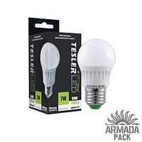 Светодиодная лампа TESLER 7W цоколь Е27 560 LM