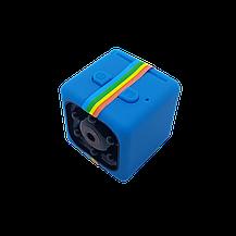 Мини камера SQ11 1920*1080P Full HD синяя, фото 3