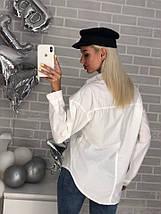 Рубашка свободного кроя женская, фото 2