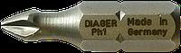 Бита крестообразная PH 0 25 мм DIAGER