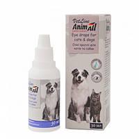 Краплі AnimAll VetLine Анімалл ВетЛайн для очей кішок і собак 30 мл