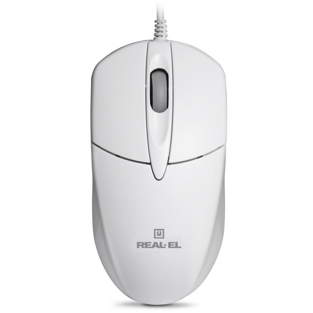 Компьютерная мышка REAL-EL RM-211 White