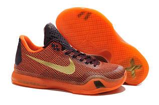 Кроссовки мужские Nike Zoom Kobe 10 / ZKM-173 (Реплика)