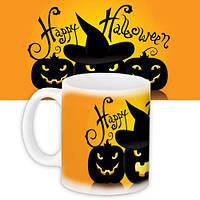 Кружка с принтом Happy Halloween (KR_HAL006)